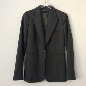 Zara Woman Dark Gray Blazer in Sz L